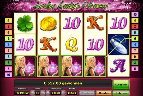 Lucky Ladys Charm Zahlungsmethoden