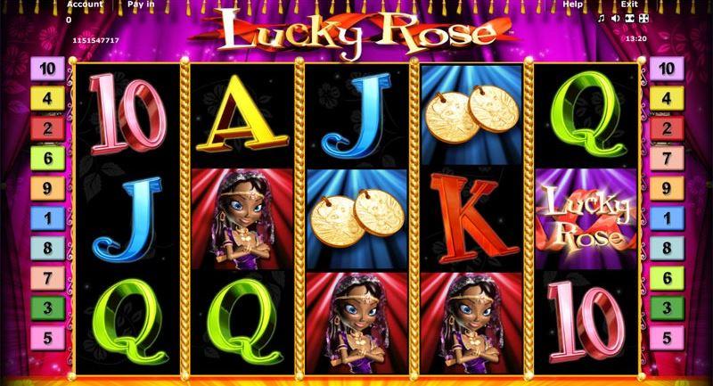 novoline lucky rose online