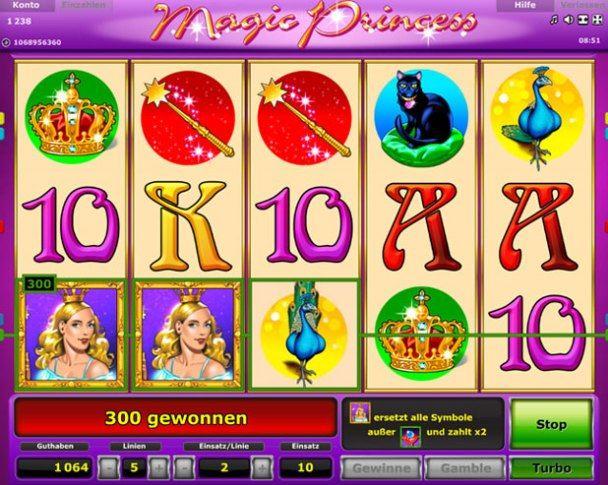 novoline magic princess online spielen